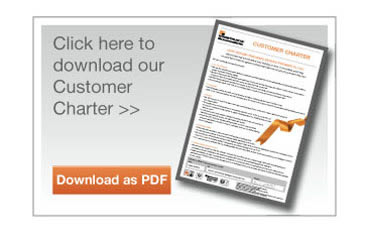 Click here to download our Customer Charter