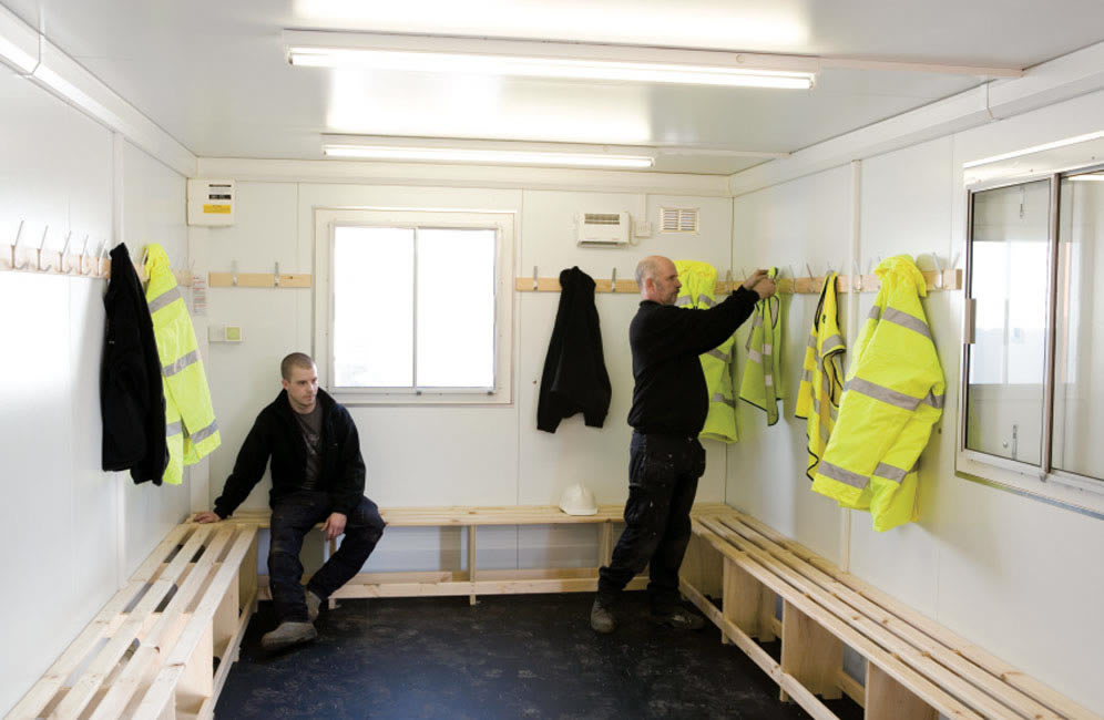 Drying Room Portable Building Hire