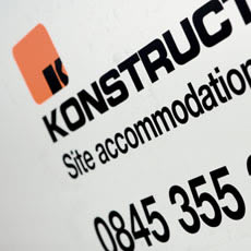 Site cabins from Konstructa Hire